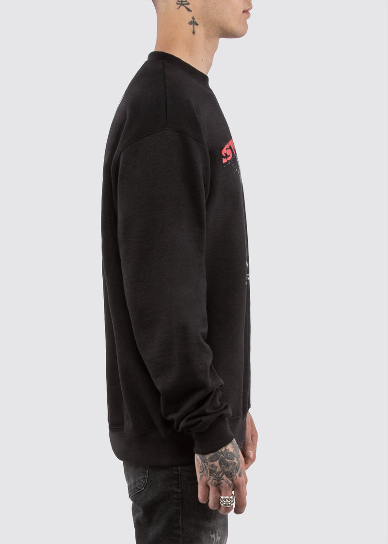 Champion Americana Crewneck // Black