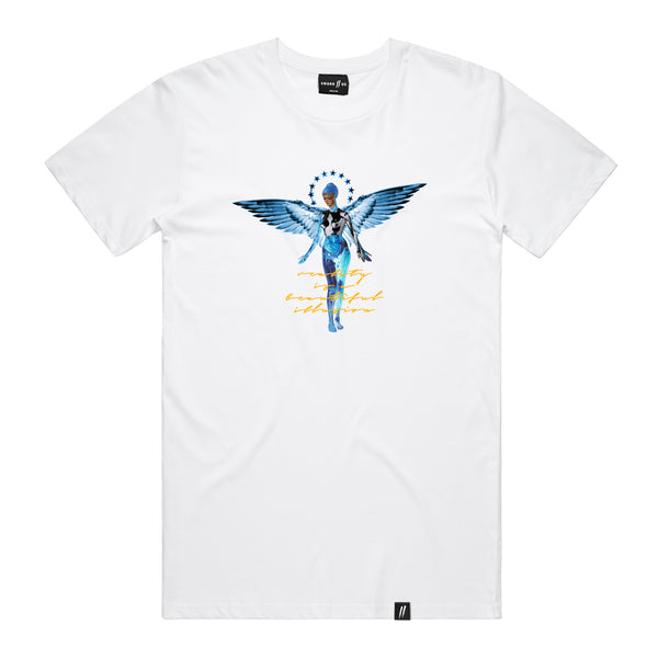 Bliss Angel Tee // Vintage White