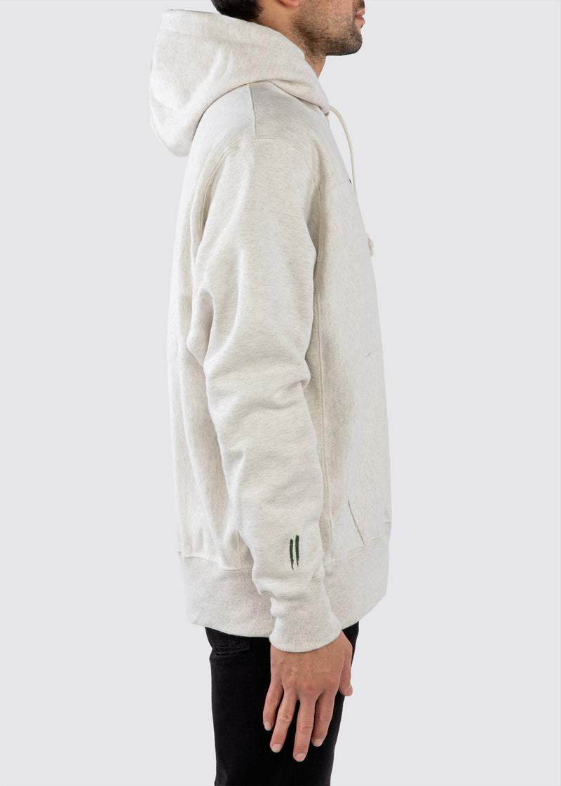 Sworn x Champion Reverse Weave Hoodie // Oatmeal Heather