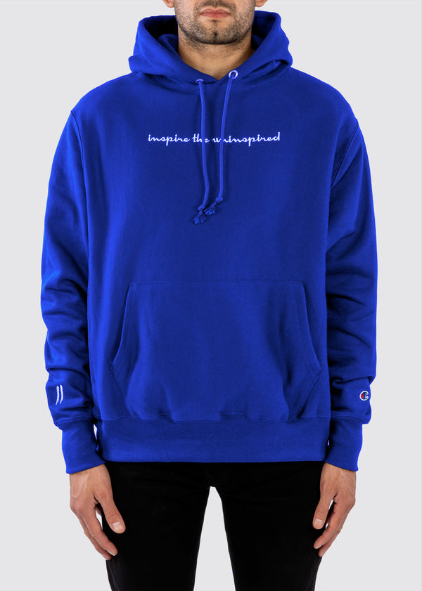 Sworn x Champion Reverse Weave Hoodie // Royal
