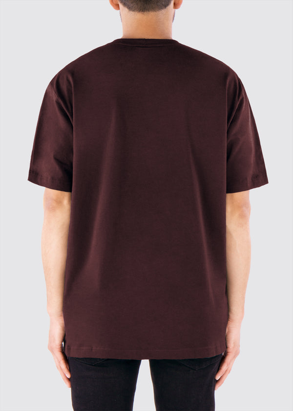 Sworn x Carhartt Pocket Tee // Port Wine