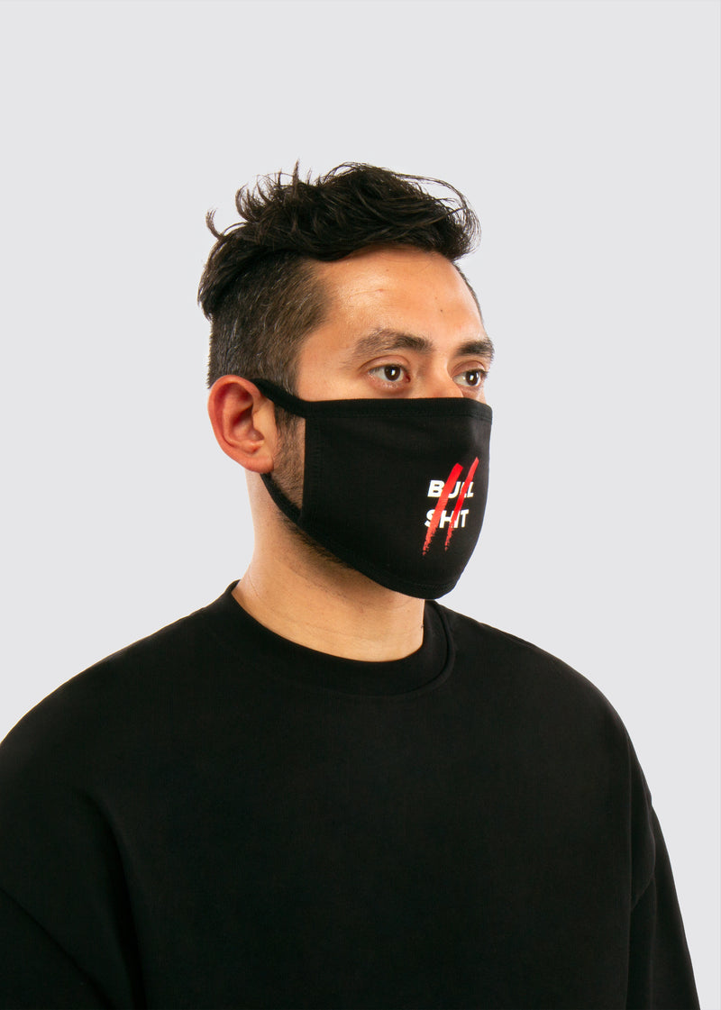 Oath Mouth Mask // Black