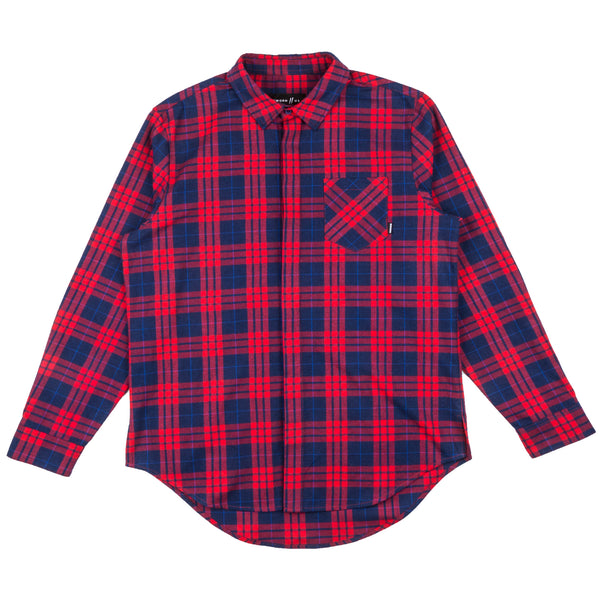 Signature Slash Flannel // Red
