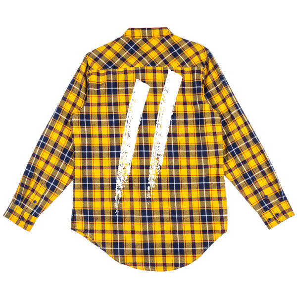 Signature Slash Flannel // Yellow