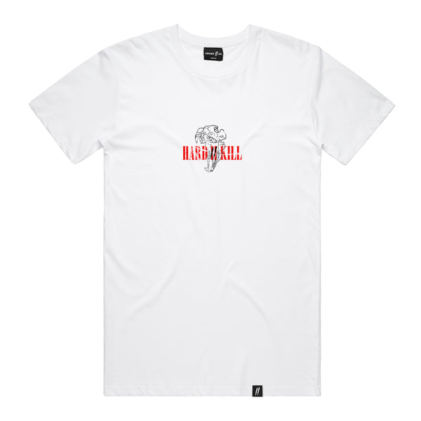 Hard 2 Kill Tee // White