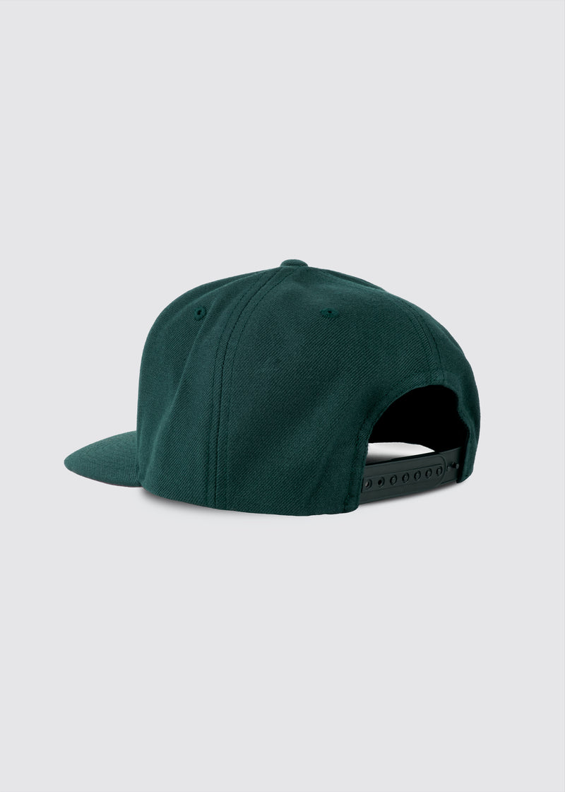 City of Angels Snapback // Forest Green