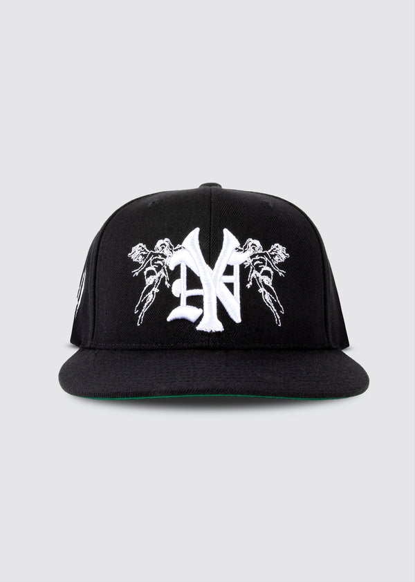 Big Apple Snapback // Black