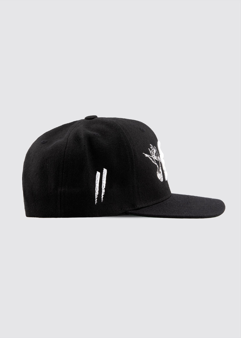 Poetry in Motion Snapback // Black