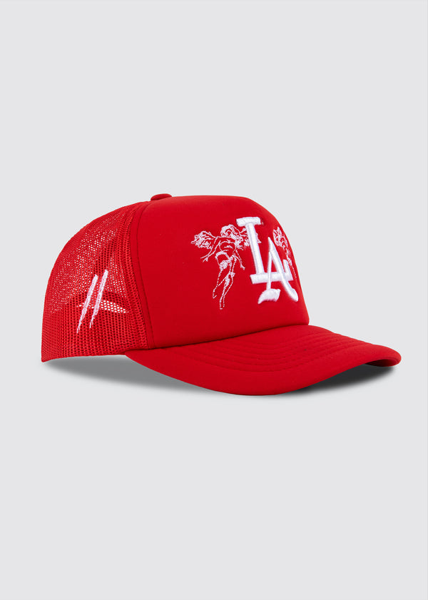 City of Angels Foam Trucker Hat // Red
