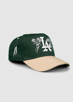 City of Angels A-Frame Snapback // Green