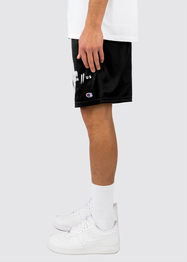 Champion Motion Court Shorts // Black