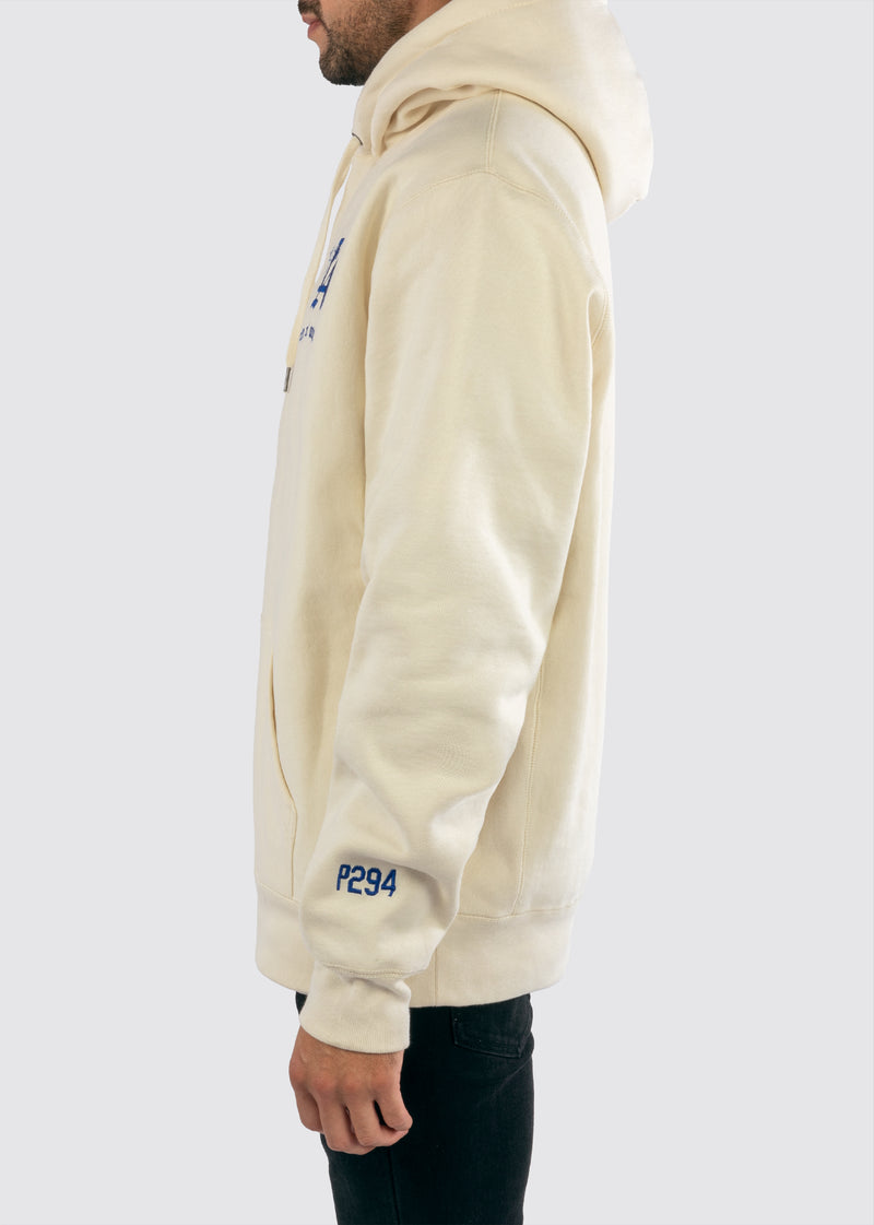 Sworn x P294 Reverse Weave Hoodie // Cream