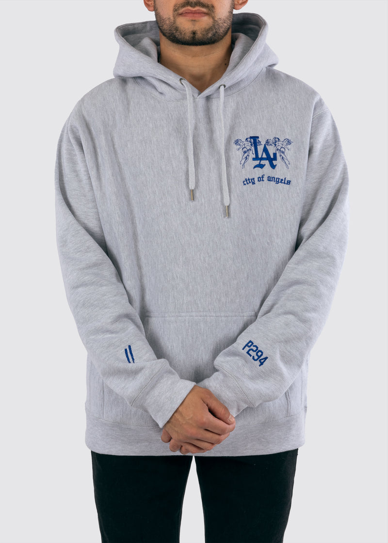 Sworn x P294 Reverse Weave Hoodie // Heather
