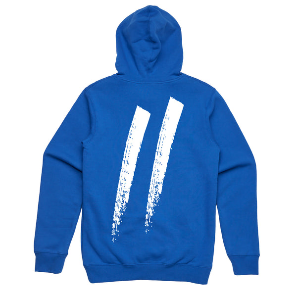 Pocket Slash Hoodie // Royal