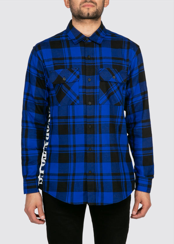 Standard State Flannel // Royal