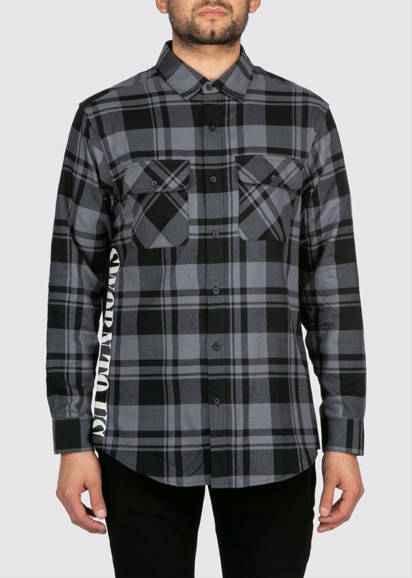 Standard State Flannel // Shadow Grey