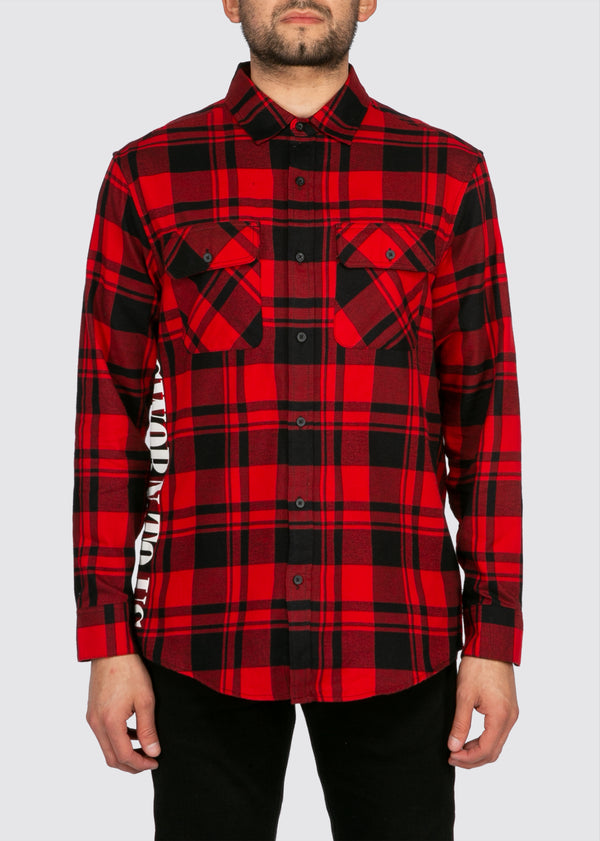 Standard State Flannel // Red