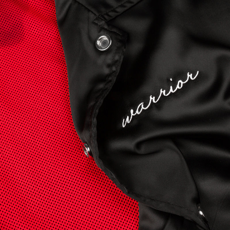 Warrior Bomber Jacket // Black