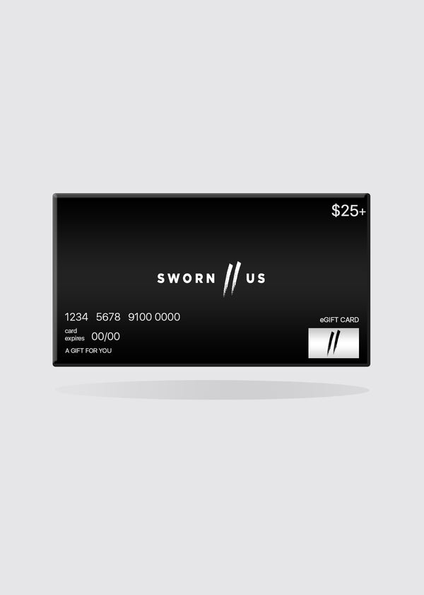 Sworn To Us - Gift Card