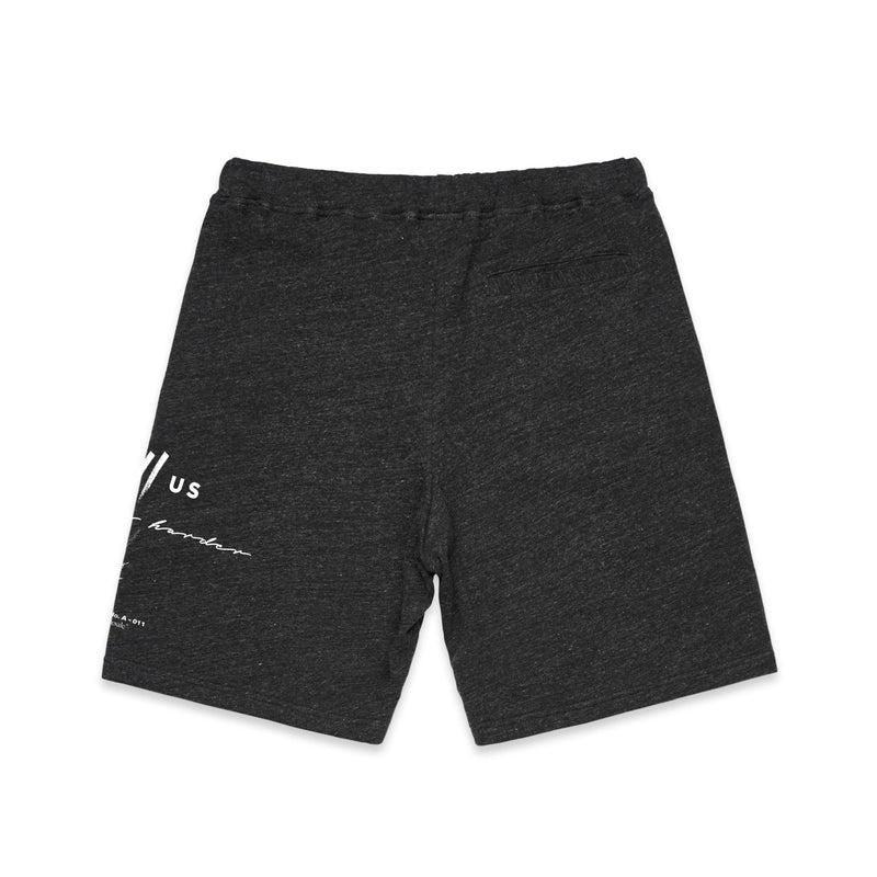 Stinger Standard Issue Sweatshorts // Charcoal
