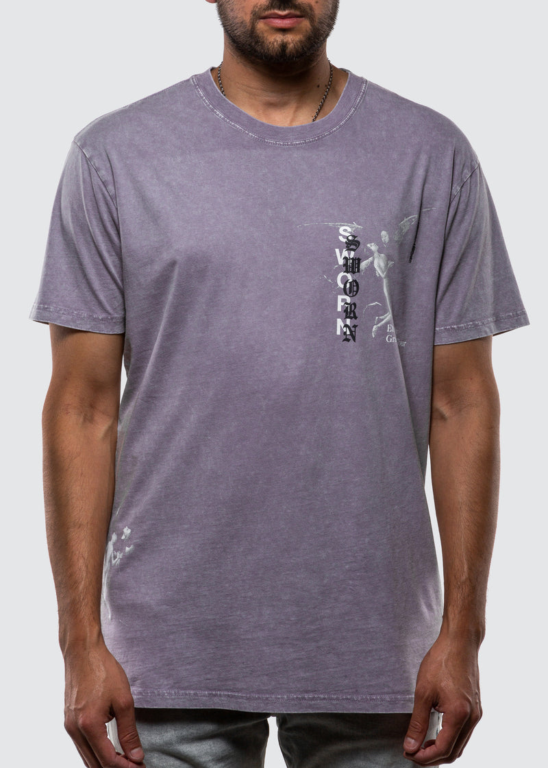 Eternally Grateful Tour Tee // Orchid Grey