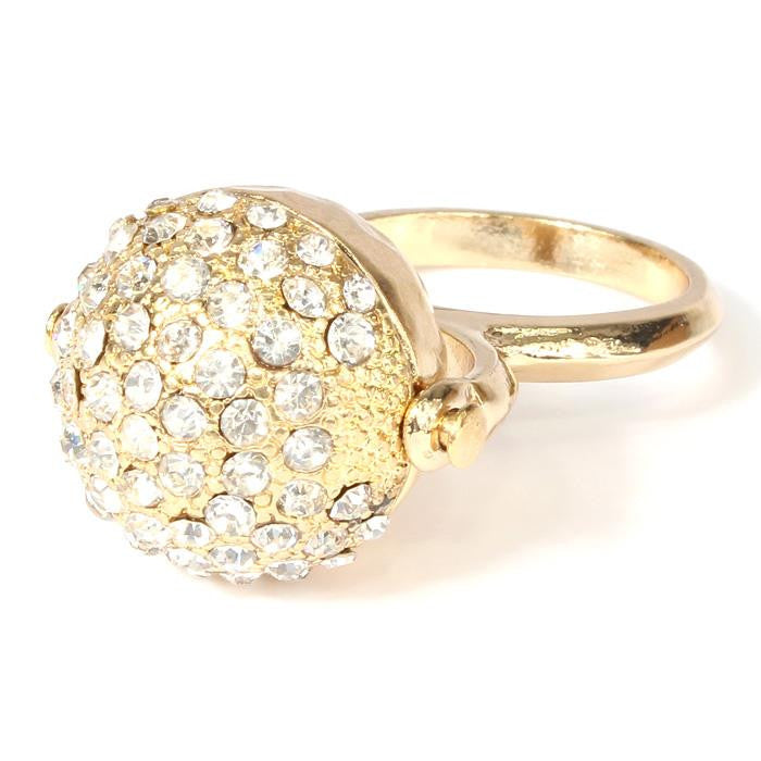 Rhinestone Ball Ring - SEXYCHIC BOUTIQUE™