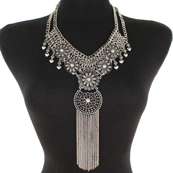VINTAGE CHAIN DROP NECKLACE - SEXYCHIC BOUTIQUE™
