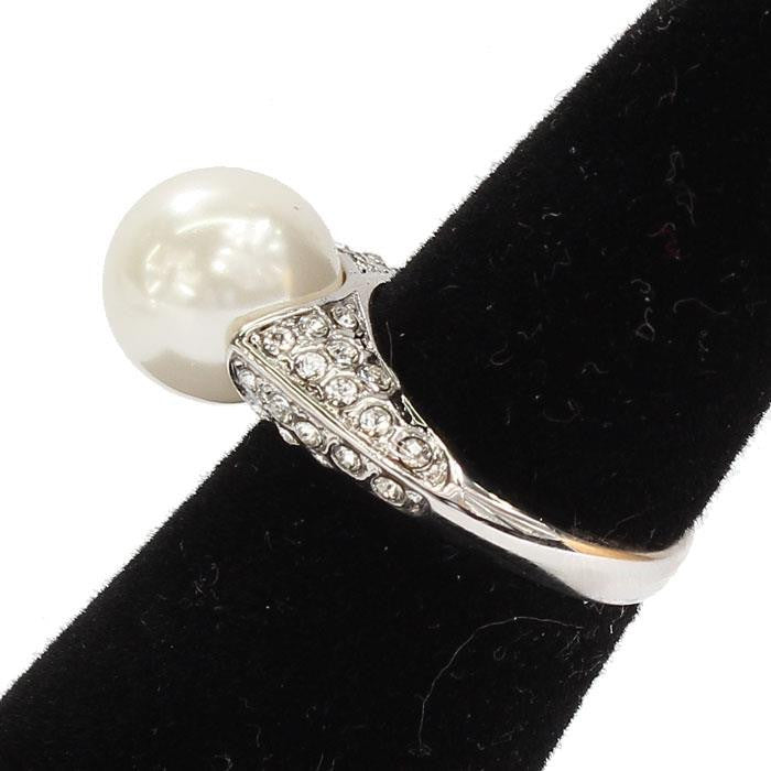 CUBIC ZIRCONIA WHITE PEARL RING - SEXYCHIC BOUTIQUE™ - 2