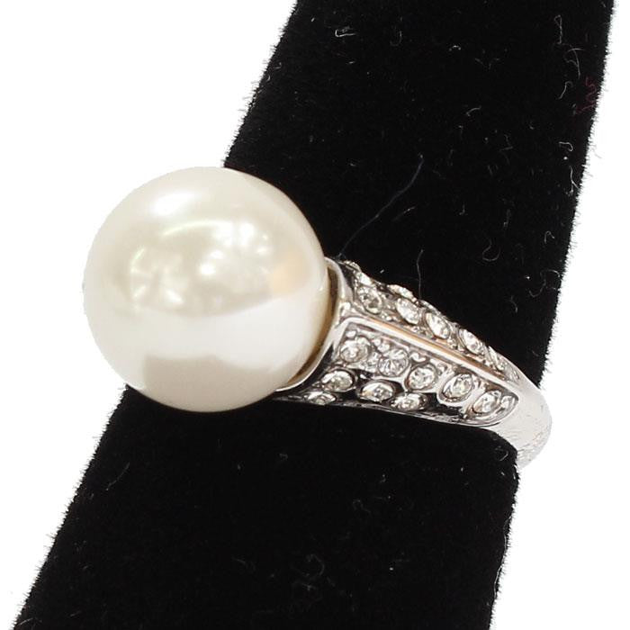 CUBIC ZIRCONIA WHITE PEARL RING - SEXYCHIC BOUTIQUE™ - 1