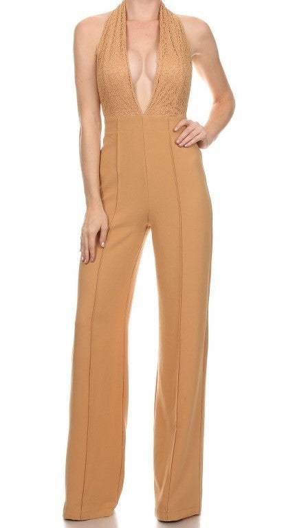 """Gwen"" HIGH WAISTED JUMPSUIT"