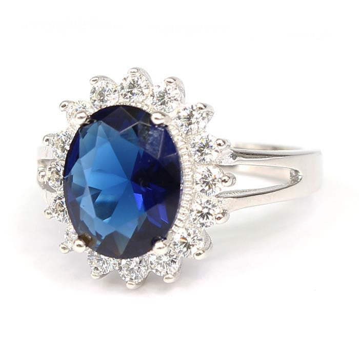 Blue CZ Ring - SEXYCHIC BOUTIQUE™