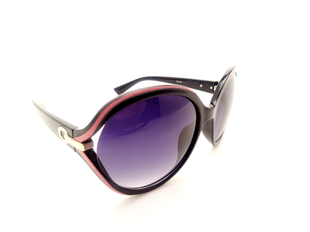 Oversize Wrap Multi Tone Frame Butterfly Sunglasses - SEXYCHIC BOUTIQUE™ - 4