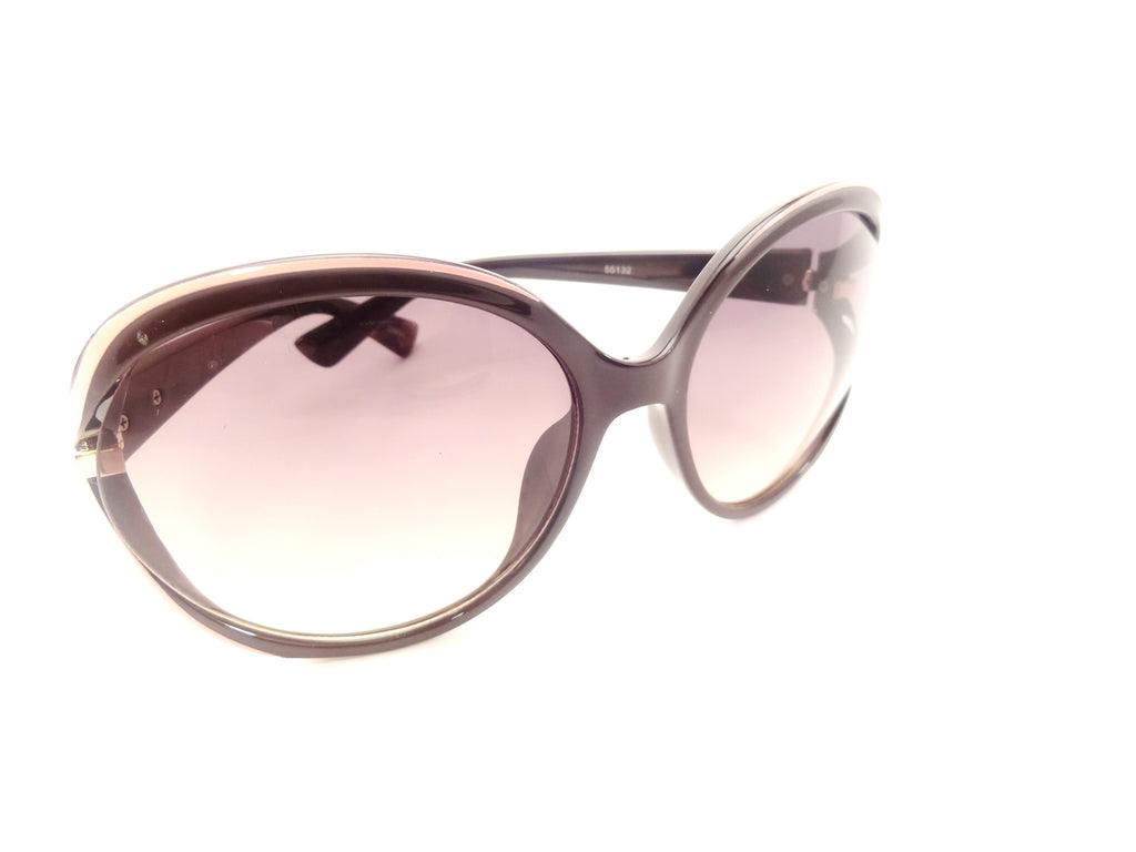 Oversize Wrap Multi Tone Frame Butterfly Sunglasses - SEXYCHIC BOUTIQUE™ - 2
