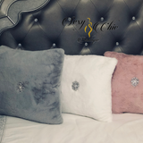 ECK™ Lux Faux Fur Throw Pillow