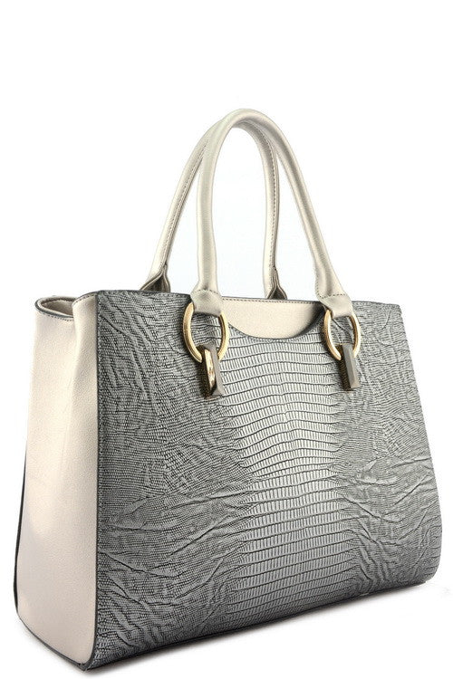 TEXTURED LEATHER TOTE - SEXYCHIC BOUTIQUE™