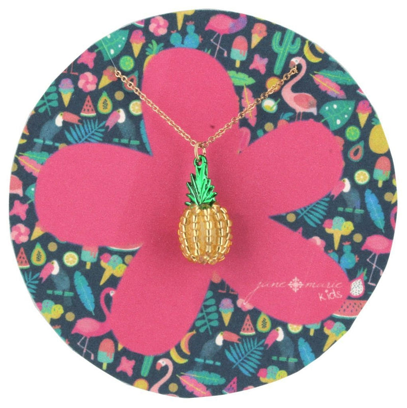 Jane Marie Pineapple Necklace