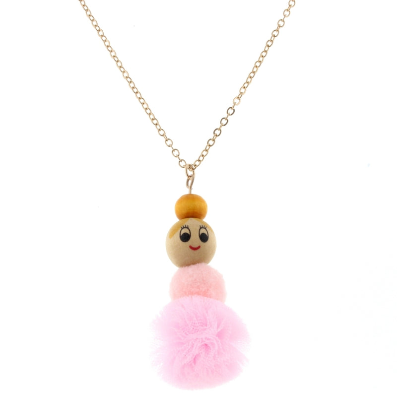 JM Pom Necklace Ballerina