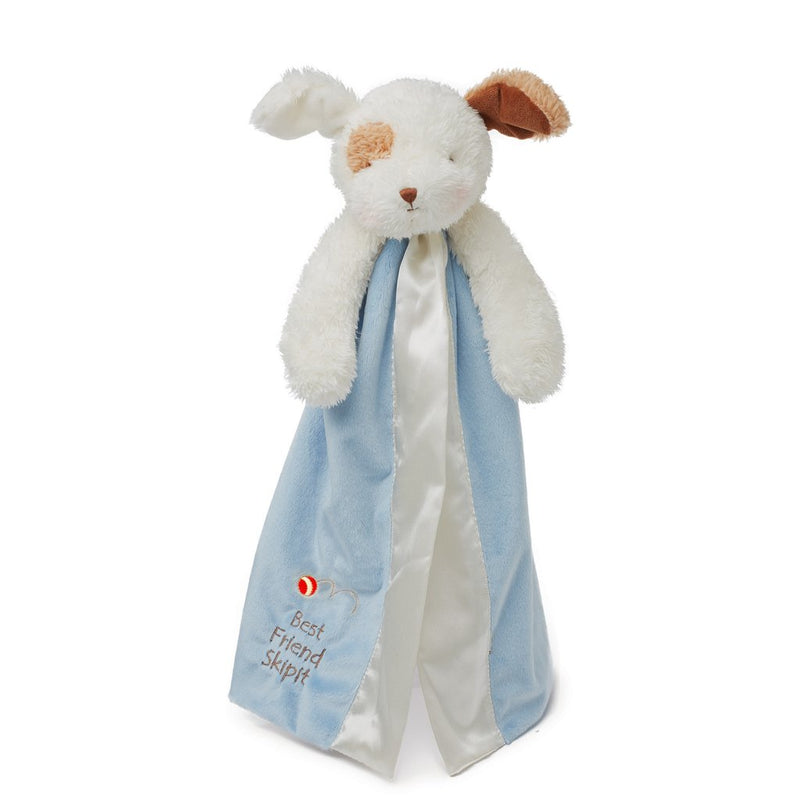 Bunnies By the Bay Best Friend Skipit Buddy Blanket, Salty Blue