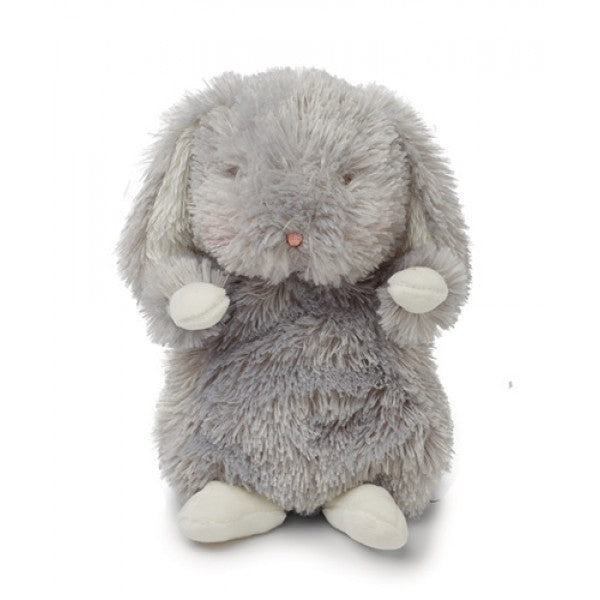 Bunnies By the Bay Wee Bloom Bunny 7 Plush, Glacier Gray