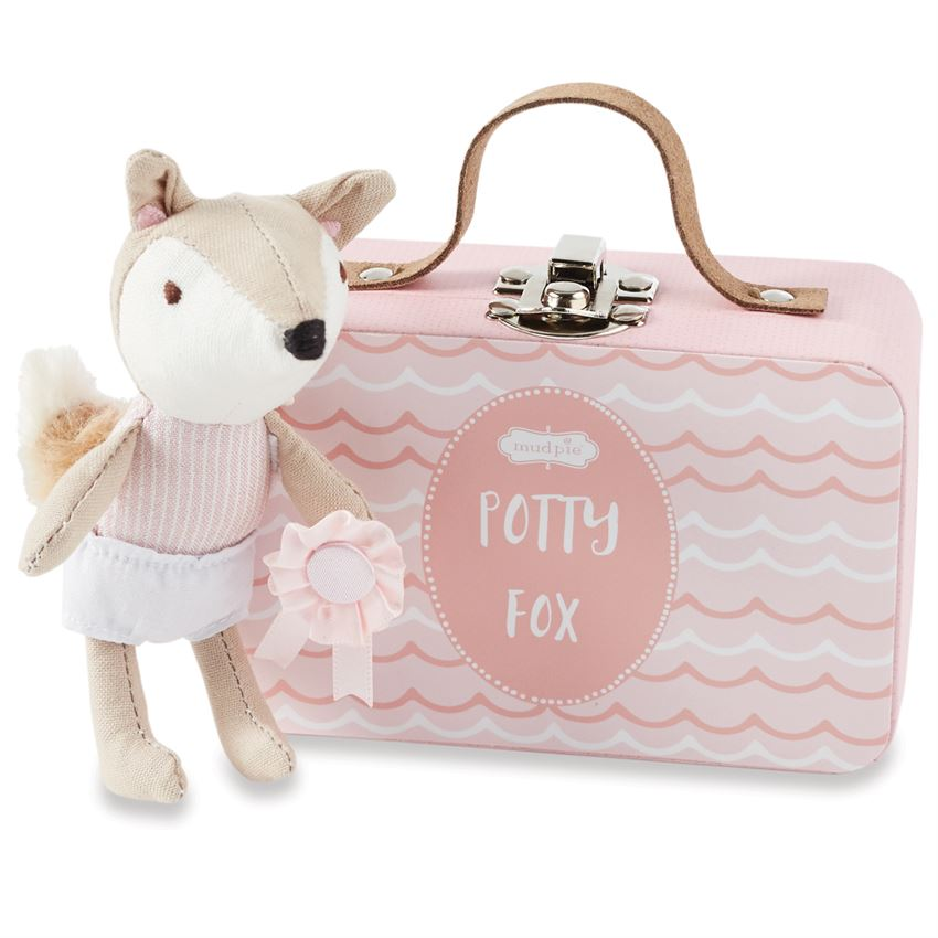 Mud Pie Potty Fox