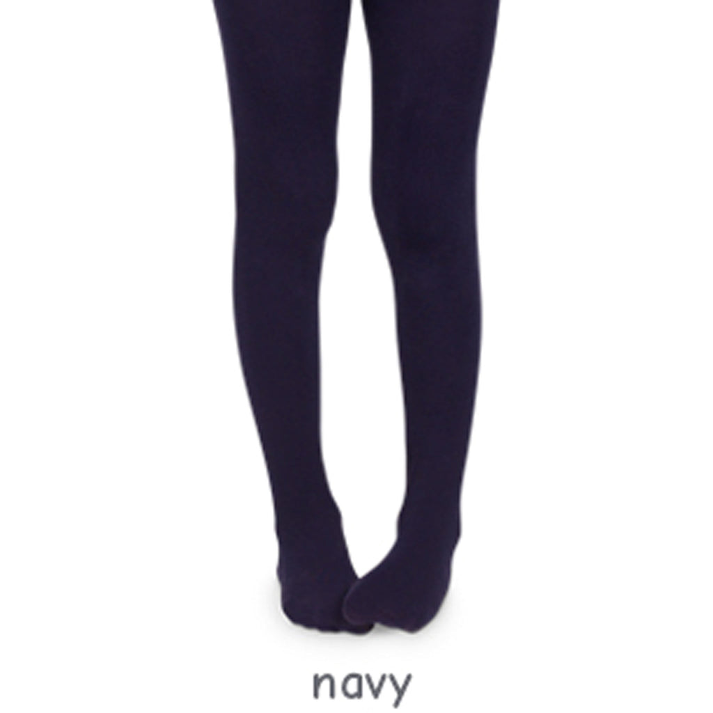 Jefferies Navy Pima Tights