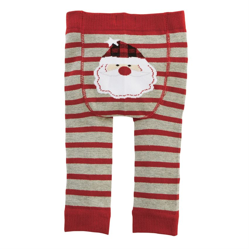 Mud Pie Santa Knitted Pants