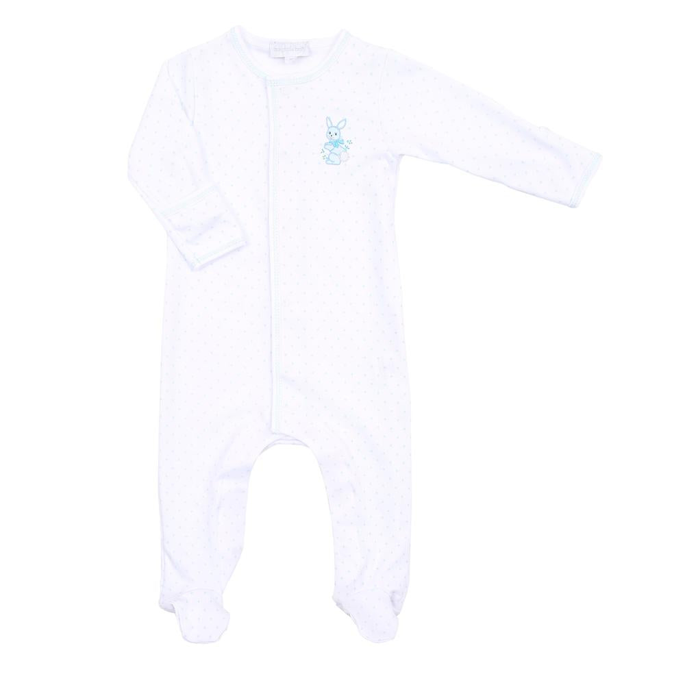 Magnolia Baby Vintage Bunnies Embroidered Footie