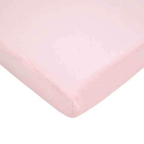 American Baby Company Jersey Crib Sheet, Pink