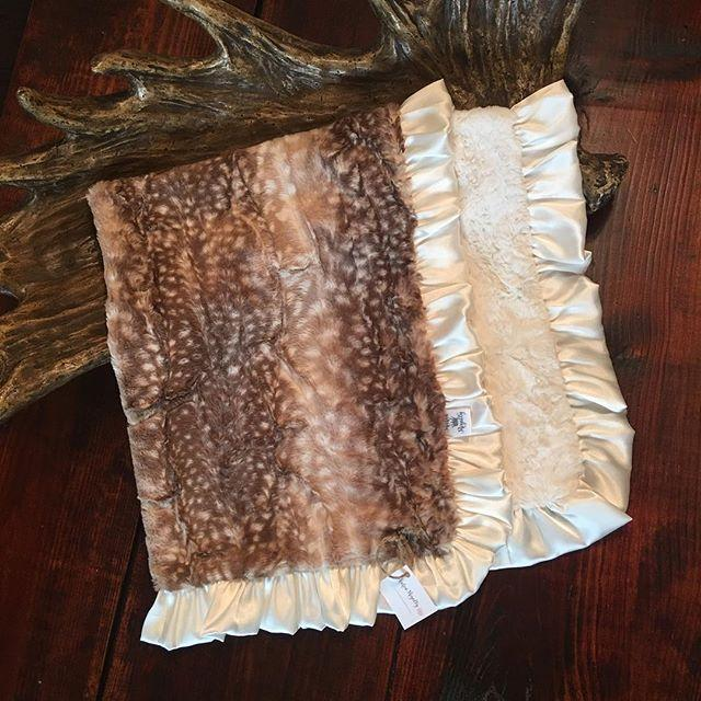 Rockin Royalty Fawn Blanket