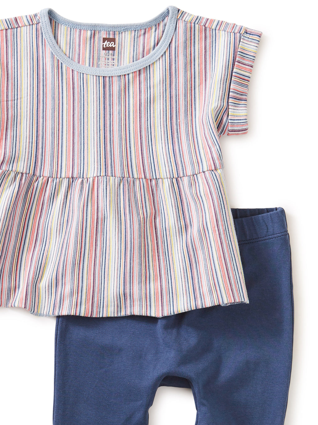 Tea Collection Multi Stripe Baby Set