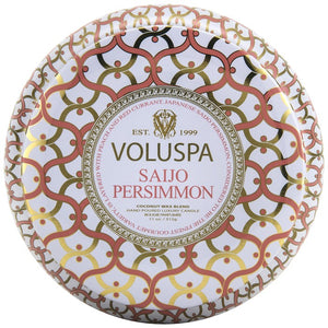 Voluspa  Maison Metallo Candle