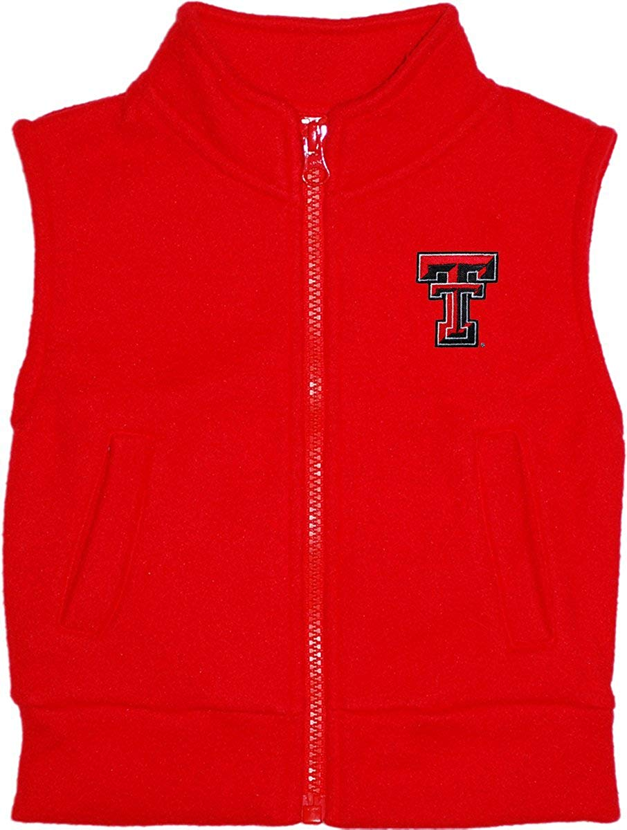 Creative Knitwear Texas Tech Fleece Vest