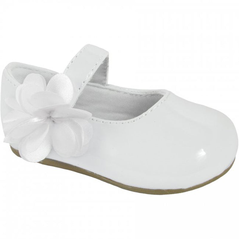 Trimfoot Mary Jane Shoe with Flower on Strap, 8