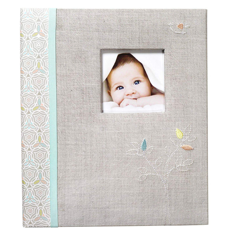 CR Gibson Linen Tree Loose Leaf Memory Book